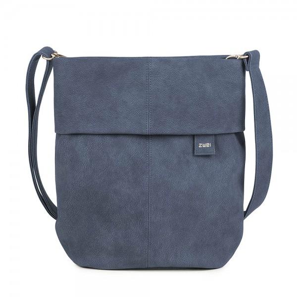 Zwei Taschen - Mademoiselle M12 nubuk blue