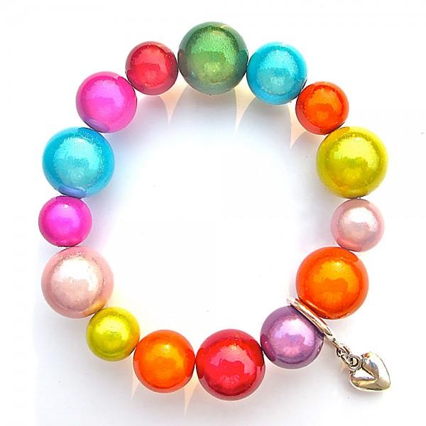 Colour Armband Herz