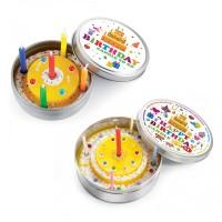 Kleine Kerze aus der Dose als Geburtstagsüberraschung