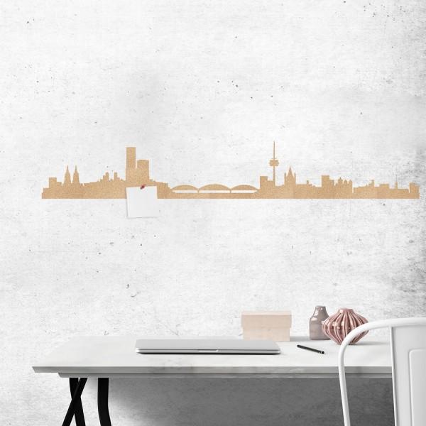 Kork Skytape Skyline Köln Wand