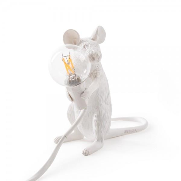 Maus Leuchte Sitzend