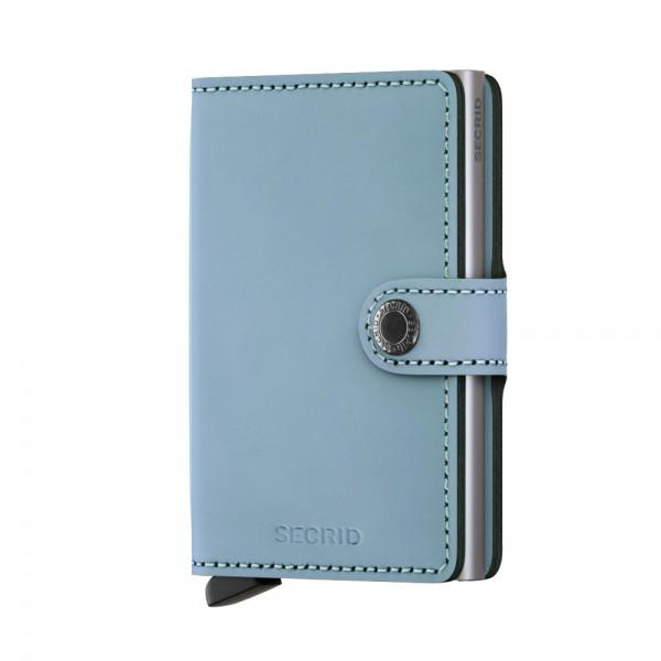 Secrid Miniwallet Kartenetui Matte Blau