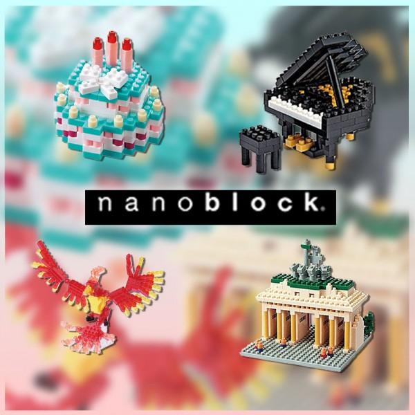 Nanoblock-Gruppenbild