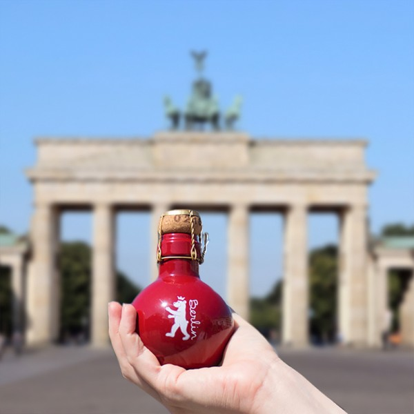 Bärlin Sekt Brandenburger Tor