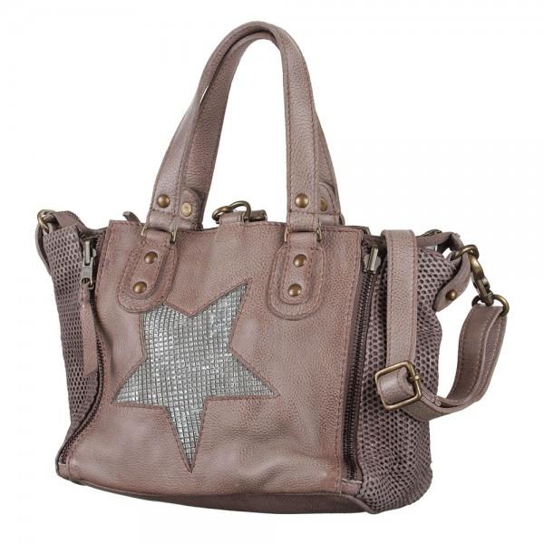 Handtasche Jacky Baby Bull & Hunt Star Grey