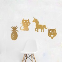 Kork Pinnwand mit Motiven