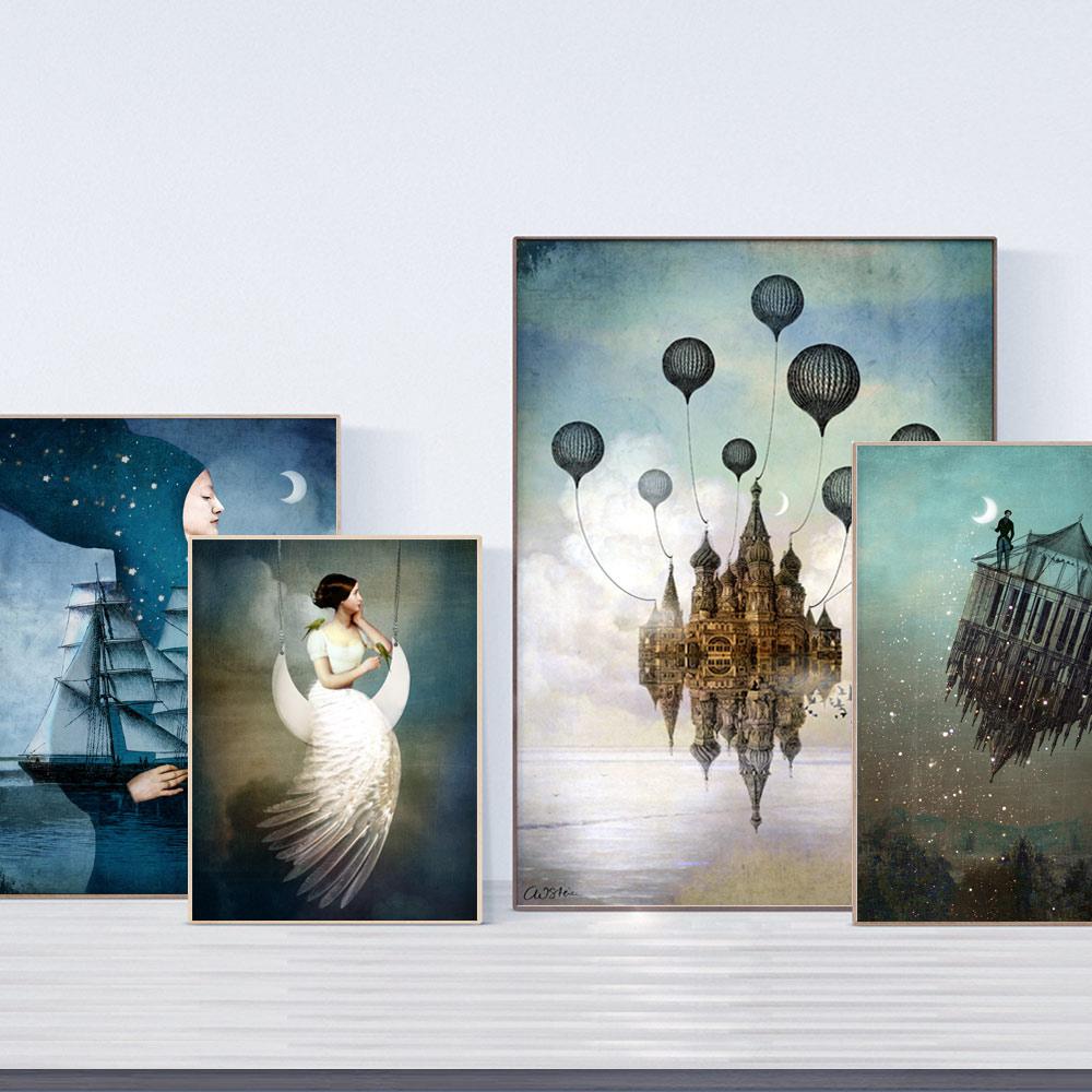 Wandbilder und kunstdrucke ausgefallene designer und lustige spr che - Ausgefallene wandbilder ...