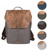 Lederrucksack Olli O14 von Zwei Taschen