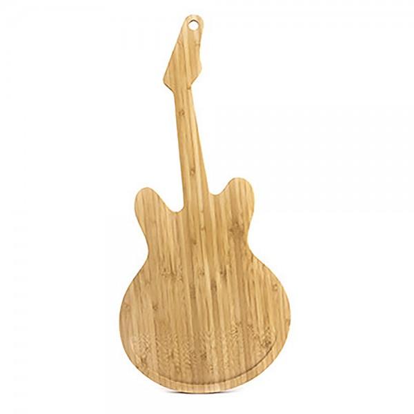 Schneidebrette Holz Gitarre