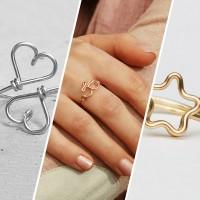 Ring aus Draht in Gold oder Silber von Kizzu