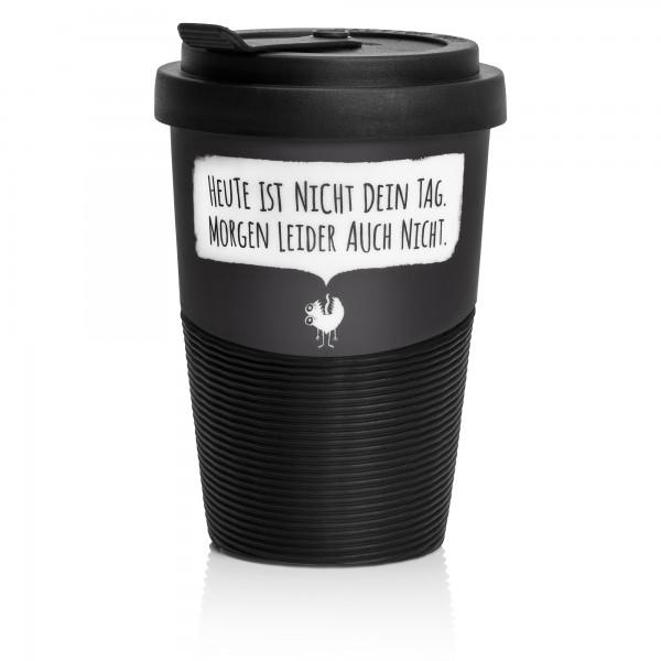 Kaffeebecher aus Porzellan für Mitarbeiter - ironisch - von Pechkeks