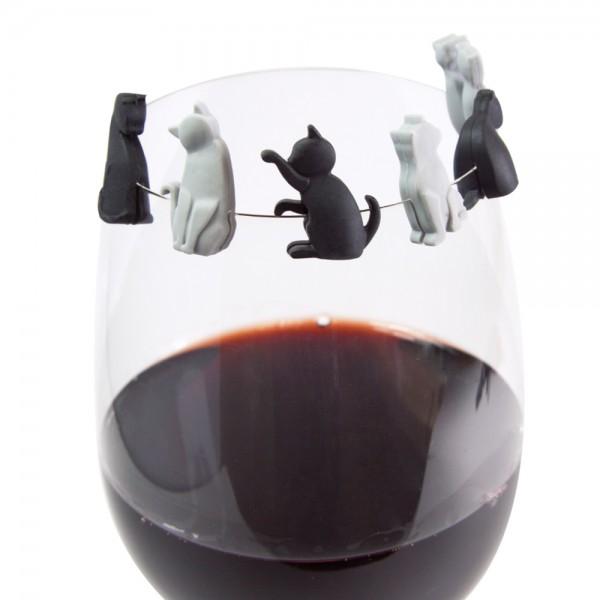 Glasmarkierer Katze