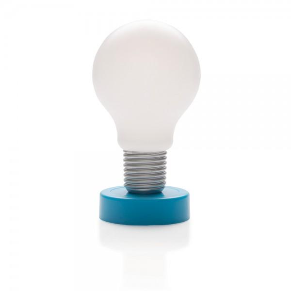 "LED Tischleuchte ""push Lamp"" blau"