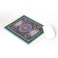Mousepad Teppich türkis