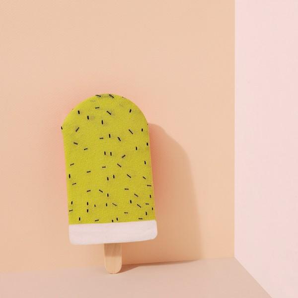 Bunte Socken Icepop Kiwi