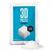 Zuckerwürfel als 3D Puzzle - 7636 Teile in der Tüte von Liebeskummerpillen