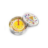 Mittlere Kerze in der Dose zum Geburtstag