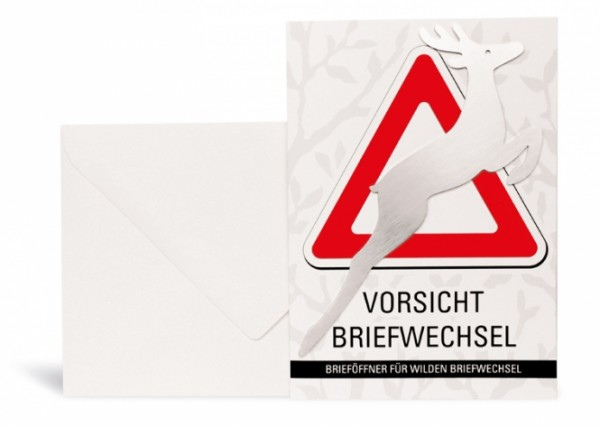 Brieföffner aus Edelstahl im coolen Design