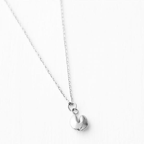 Glückskekskette Silber