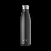 Trinkflasche aus Edelstahl von FLSK 500 ml Black