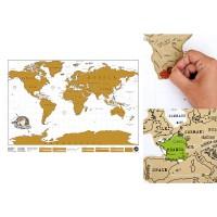 Rubbel Weltkarte von Luckies