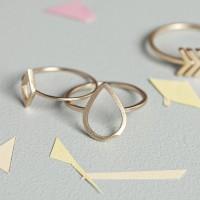 Ring in filigraner Form von timi