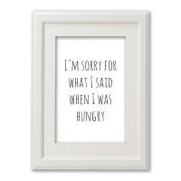 Kunstdruck Hungry