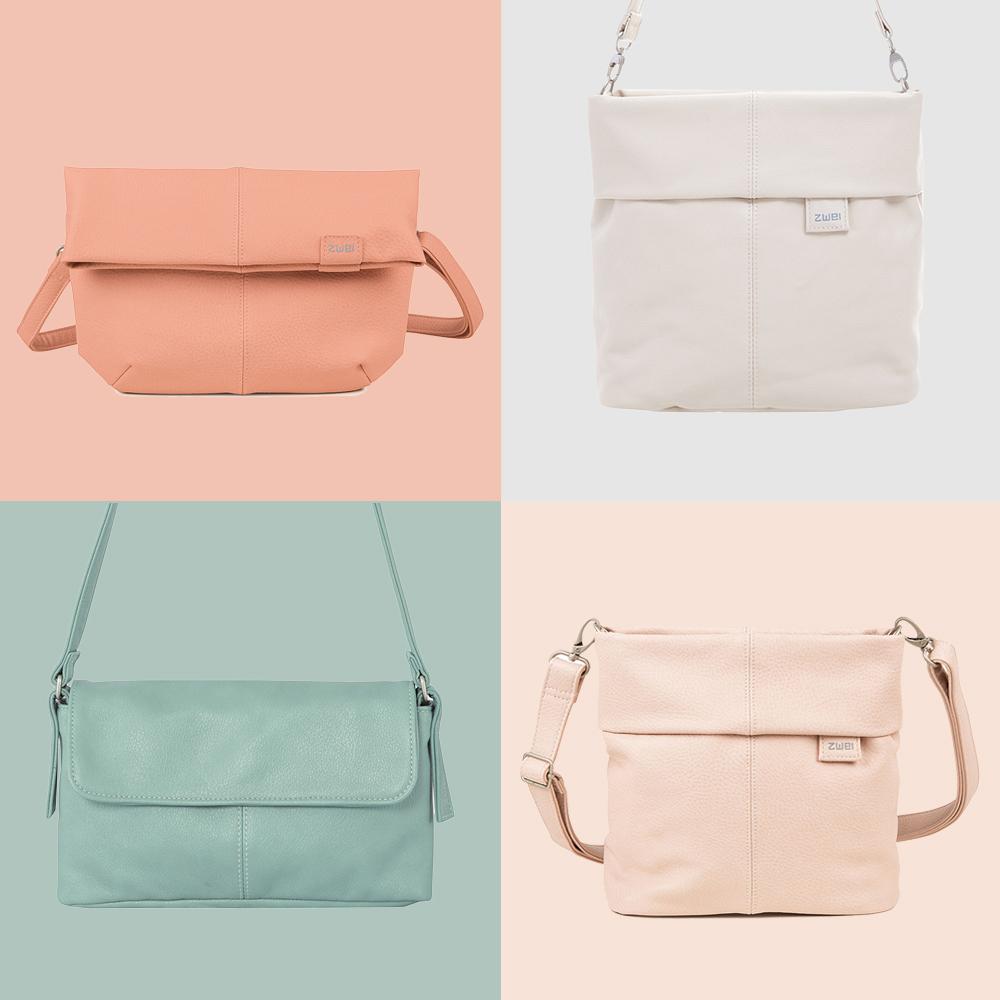 61ea35fe6b03d Sehr gut für den Alltag geeignet sind zum Beispiel die Handtaschen aus der  Mademoiselle-Kollektion von Zwei Taschen. Die ...