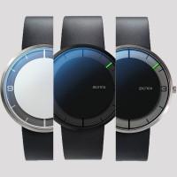 Einzeigeruhr NOVA Armbanduhr von Botta