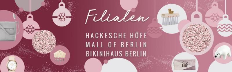 Weihnachtsgeschenke aus Berlin - promobo Filialen