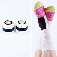 Maki Sushi  Socken Californian Rolls