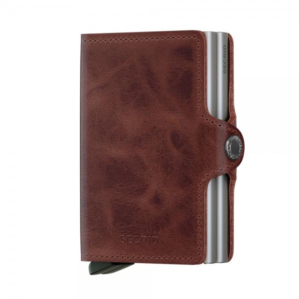Secrid Twinwallet Kartenetui Vintage Brown