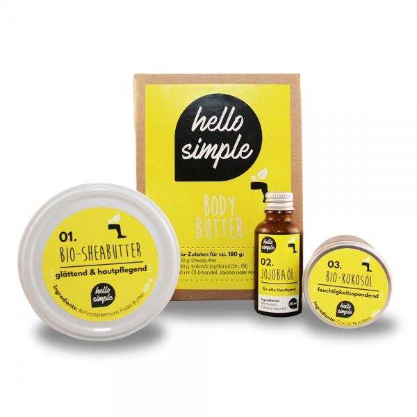 Body Butter zum selber machen von Hello Simple